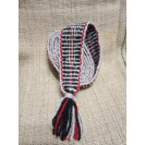 Wale. Black and gray with red thread. Demonstration product.